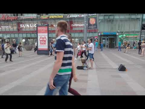 Санкт-Петербург. Ладожский вокзал. Выступление (пора домой, сектор газа).