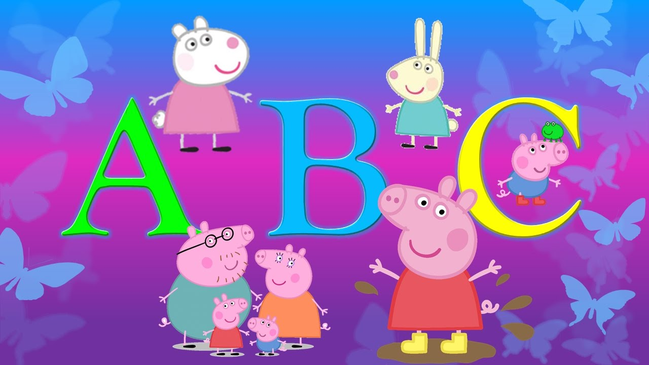 Peppa Pig Abc Dance Song Youtube