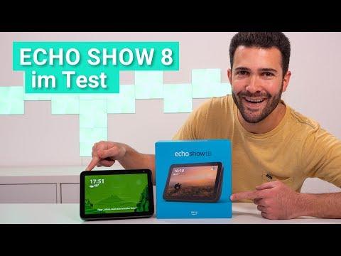 Echo Show 8 im Test - Das kann das neue smarte Display und so klingt es!