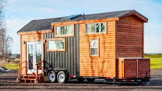 Cozy And Bright With The 26ft Tiny Home For Sale   Living Design For A Tiny House