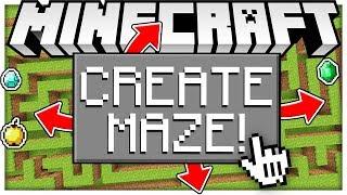 WHO CAN MAKE THE BEST TROLLS IN MINECRAFT?! 1V1 CHALLENGE - TROLL MAZE MINECRAFT MINIGAME