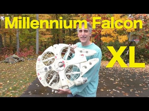 Air Hogs Star Wars Millennium Falcon XL Drone REVIEW