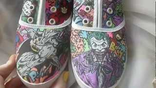 Customised Shoes - Marvel/DC Comics - Heroes & Villains