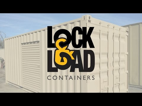 Lock & Load Containers Corona CA | 951-643-0088