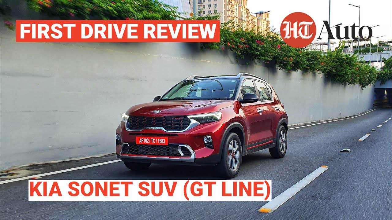2020 Kia Sonet Suv Gt Line First Drive Review Youtube