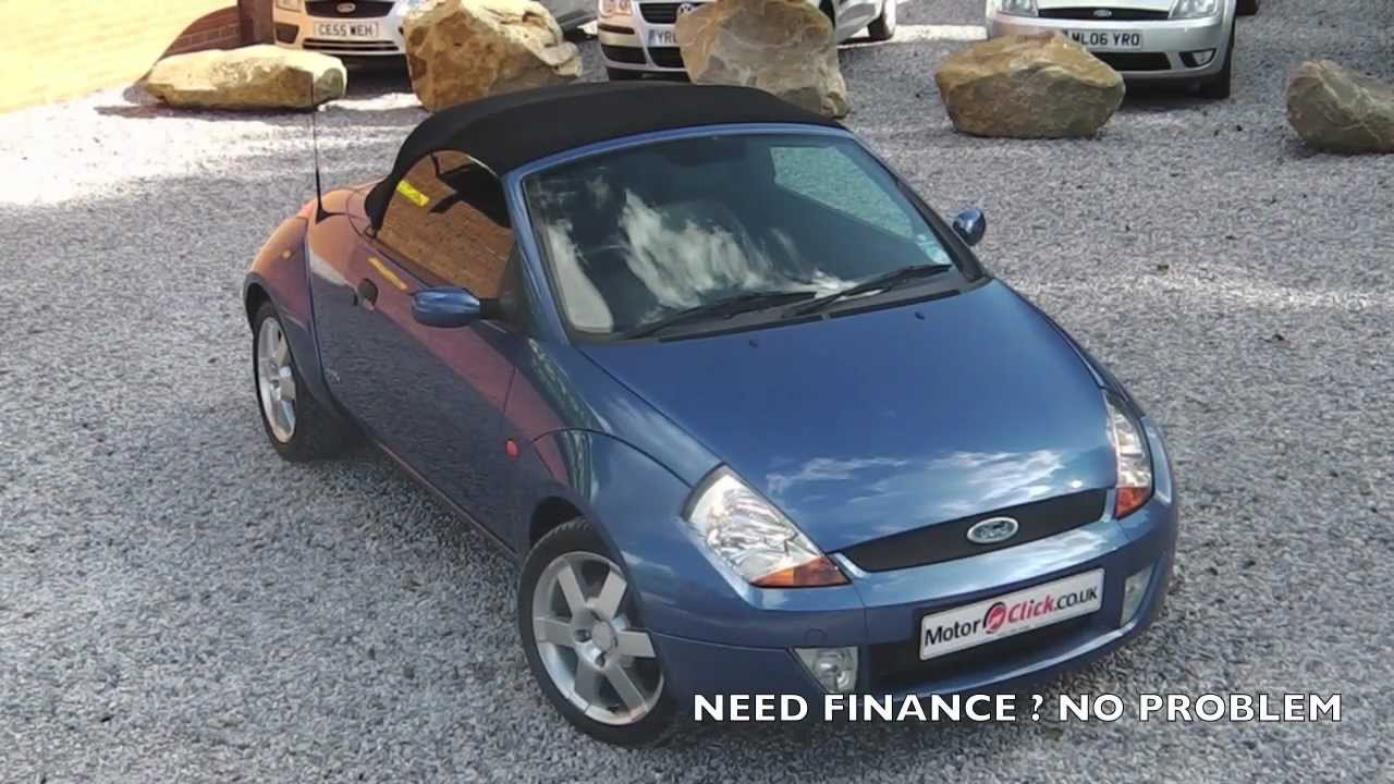 ford streetka 05 54 convertible at youtube. Black Bedroom Furniture Sets. Home Design Ideas