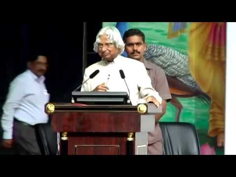 Dr APJ Abdul Kalam sir talks on my journey v fondly !
