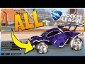 ALL NEW PAINTED CENTRO WHEELS!! - Rocket League Show Case