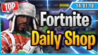 Fortnite Daily Shop *TOP* YULETIDE RANGER & NOG OPS SKIN (14 Januar 2019)