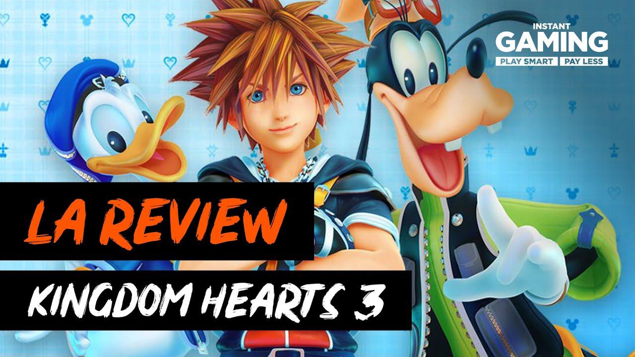 Kingdom Hearts 3 : La Review