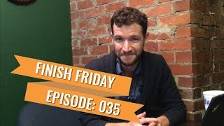 Finish Friday 035: Persistence Hunting, Learning Wordpress, and A Chillstep Mix