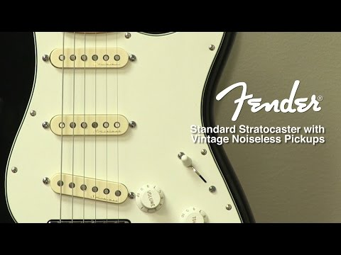 Fender Standard Stratocaster With Vintage Noiseless Pickup Mod Review By Sweetwater