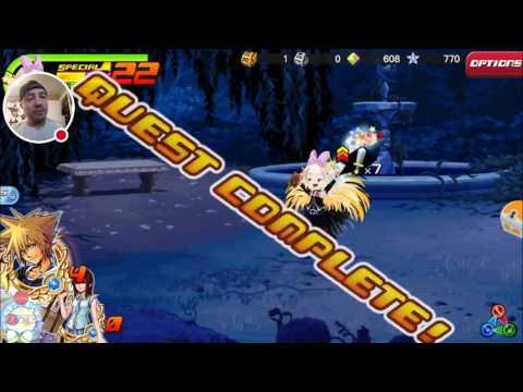 Kingdom Hearts Union X: Organization 13 Event Number 7 Saix Full Clear!