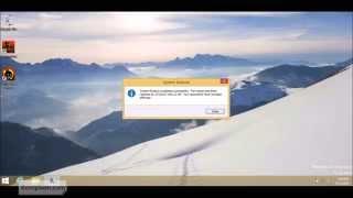 [Windows 8 .1] Cara Mengembalikan Restore Point