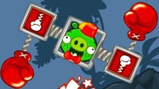 МАШИНКИ Bad Piggies #11 мультик игра как Хот вилс Hot Wheels про тачки. Собираем новую машинку #МК