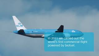 KLM: Flying with biofuel – is that sustainable?