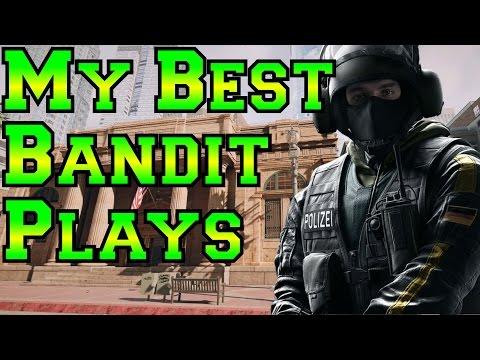 My Best Plays with Bandit - Rainbow Six Siege