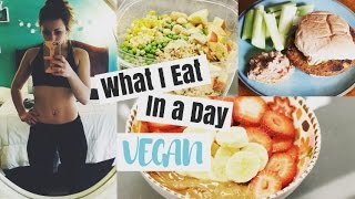 What I Eat in a Day at Work | VEGAN