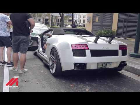 KBH Lamborghini Gallardo LP520 Twin Turbo Loud Start up, Rev & Acceleration
