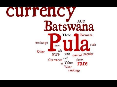 Batswana Currency - Pula
