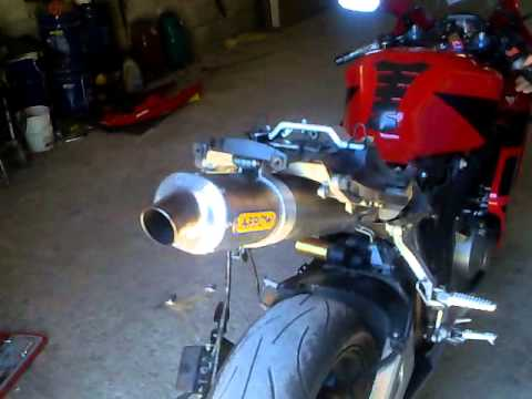 Honda Cbr 600 Rr Sound Arrow Exhaust Youtube