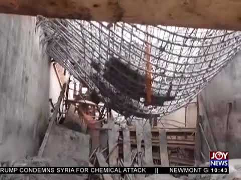 Newmont Ahafo Mine Collapse - News Desk on JoyNews (9-4-18)