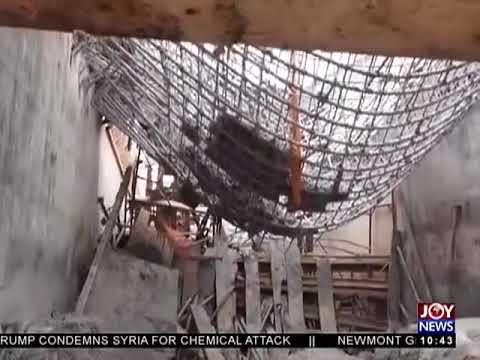 Newmont Ahafo Mine Collapse - News Desk on JoyNews (9-4-18)