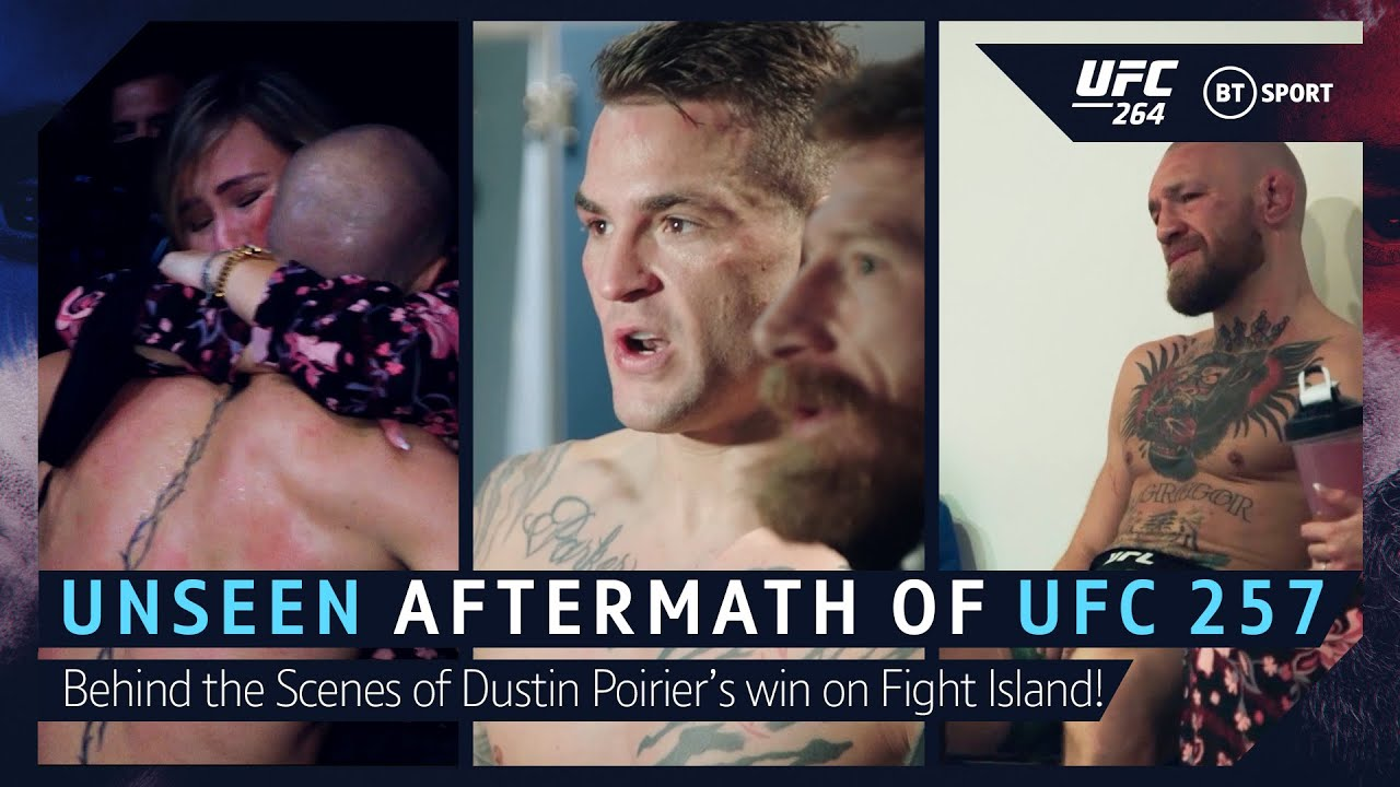 Download The Unseen Aftermath of UFC 257! Behind the Scenes as Dustin Poirier beat Conor McGregor