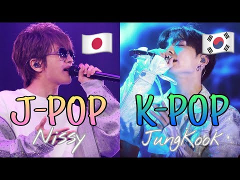 KPOP vs JPOP JungKook(BTS)× Nissy(AAA)Two wonderful artists