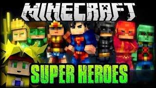 MINECRAFT PE 1.2 - SUPER HEROES Y PODERES + ARMAS - EPICO MOD - MODS ANDROID
