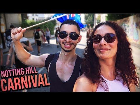 NOTTING HILL CARNIVAL 2017 MADNESS LONDON VLOG | Jay & Rengin