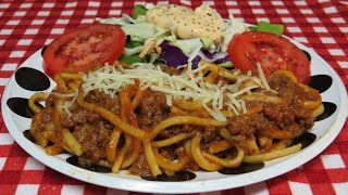 Easy Spaghetti With Ground Beef Recipe