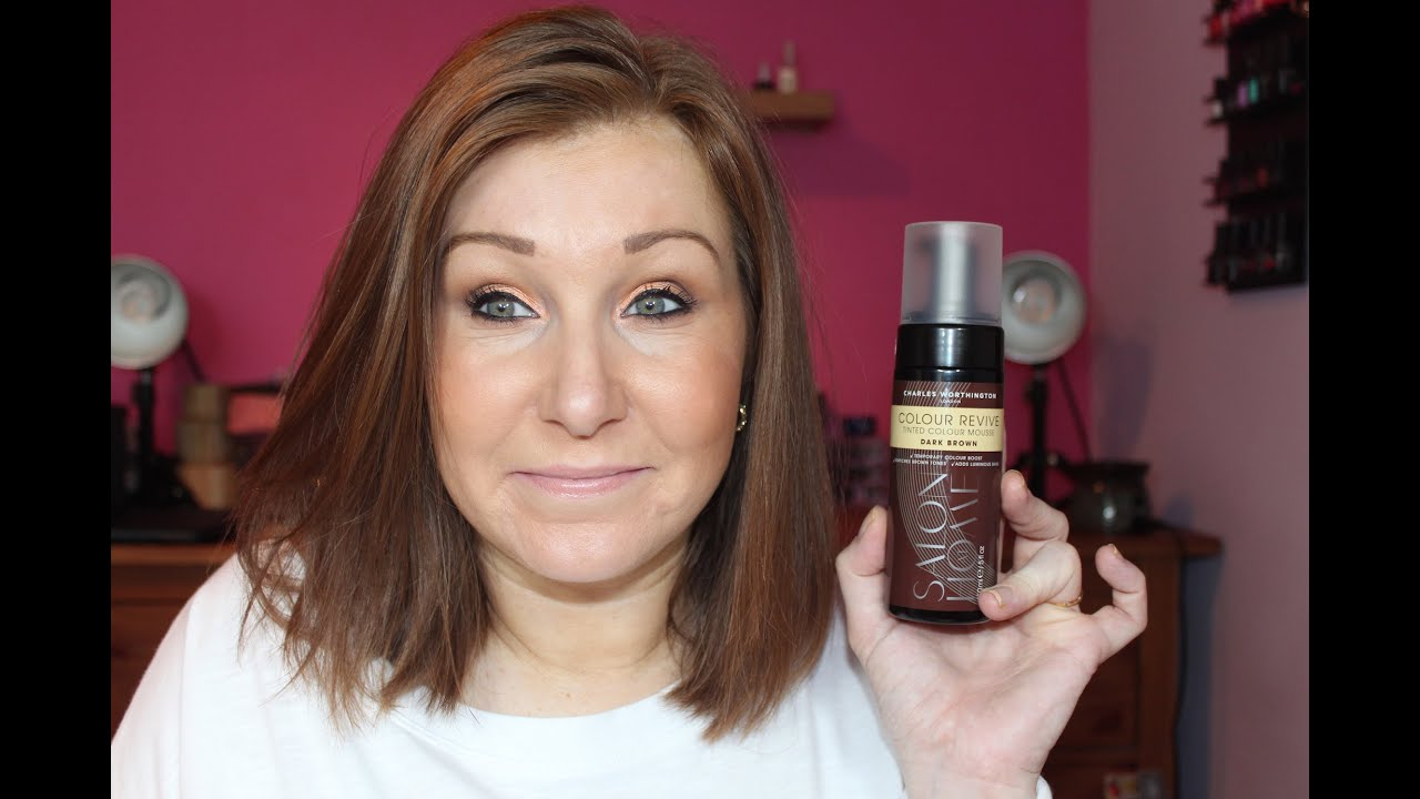 Charles Worthington Color Revive Mousse Review Youtube