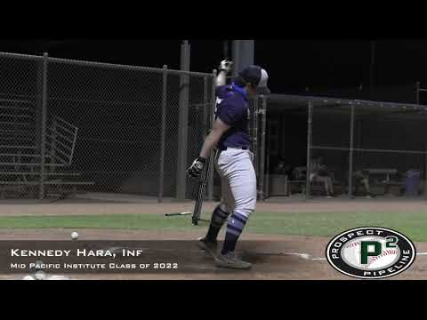 Kennedy Hara Prospect Video, INf, Mid Pacific Institute Class of 2022