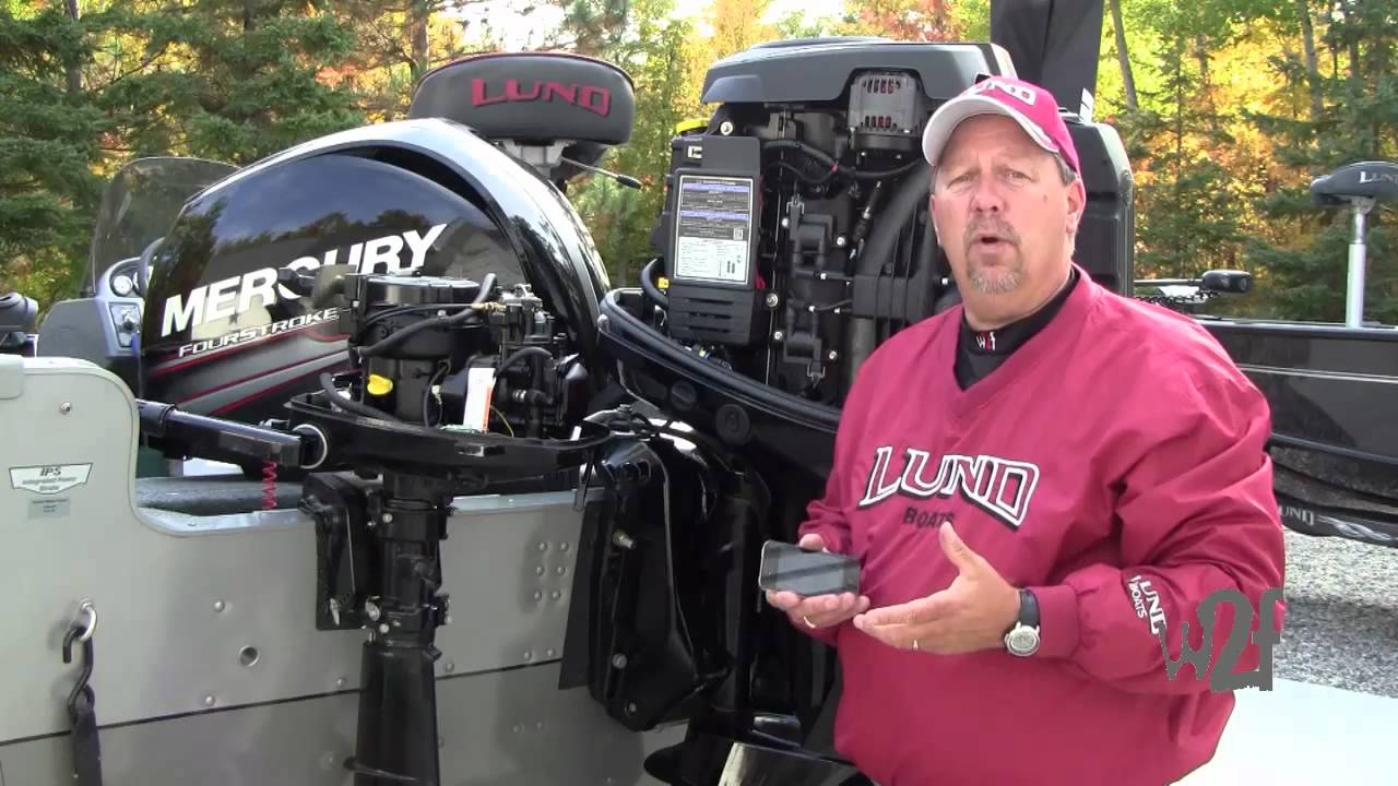 Changing Oil on a 4-Stroke Mercury Outboard - Wired2Fish com