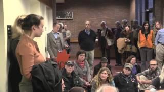 VT Fracked Gas Pipeline Demonstration + Sit-In Arrests