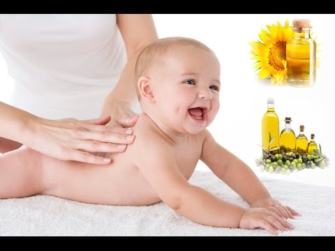 Olive Oil Massage Of Your Baby Could Cause Eczema Or