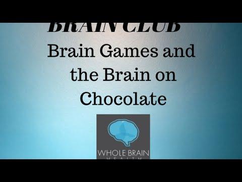 Brain Club: Brain Games And Chocolate