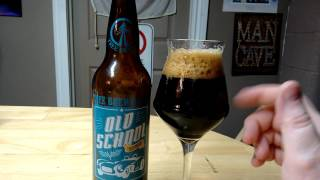 Tree Brewing Old School Stout : Albino Rhino Beer Review