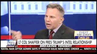 LT. Col Tony Shaffer Believes Former Obama Staffers Withholding Intel From Trump Admin