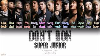 Watch Super Junior Dont Don video
