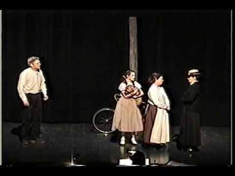 WIZARD OF OZ: Melanie as Dorothy PART 2 Gregory Terlecki as Hunk.wmv