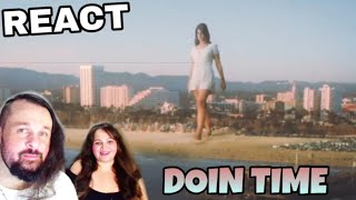 Download REAGINDO: LANA DEL REY - DOIN TIME (REACTING) Mp3 and Videos