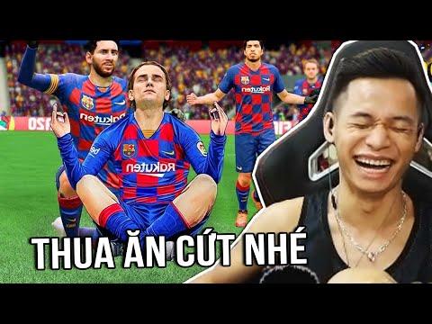 (Ao Làng FIFA Online 4) Kèo ăn cứt cười ra nước mắt của Nhism và Bô Cao Lãnh.