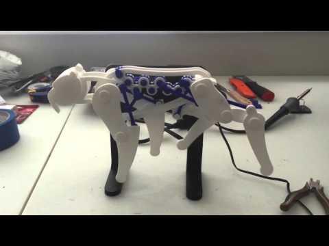 Mechanical Saber Tooth Tiger