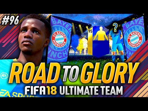 95 RATED BUNDESLIGA TOTS IN MY PACK!! FIFA 18 ROAD TO GLORY #96