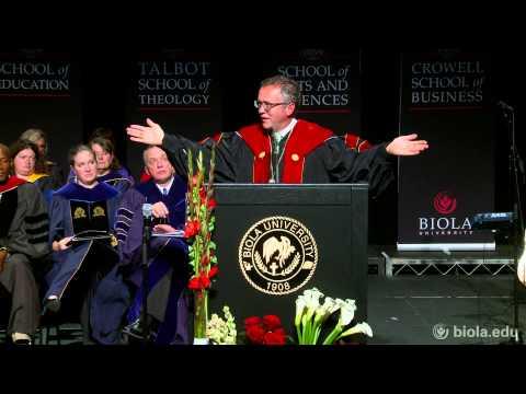 President Barry H. Corey: The Long Game - Biola University Chapel