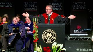 President Barry H. Corey: The Long Game - Biola University Chapel