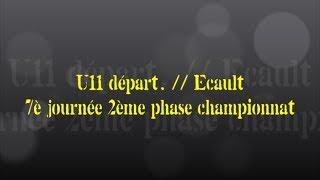 Retour sur le match... U11 départ. // Ecault