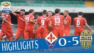 Verona - Fiorentina - 0-5 - Highlights - Giornata 3 - Serie A TIM 2017/18 streaming